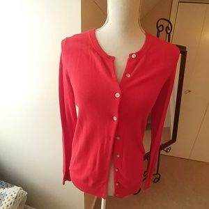 Old Navy Tops - Old Navy Red Sweater Cardigan